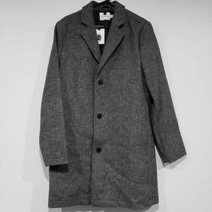 TOPMAN Wool-Blend Jacket, Size Medium